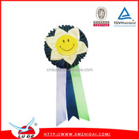wholesale rosettes ribbons awards for trade show