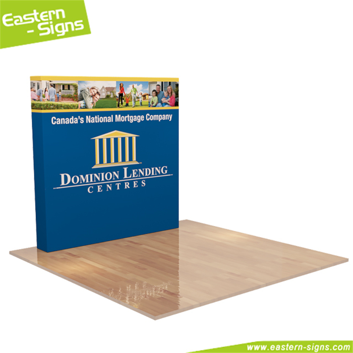 Free Assembly New Style Indoor Outdoor Advertising Store Pop Up Tension Fabric Display