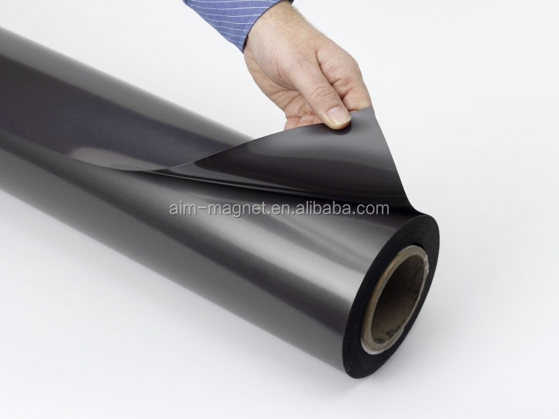 Flexible Rubber Magnets Roll Flexible Magnet Ferrie Magnet Sheet 1mm Thick