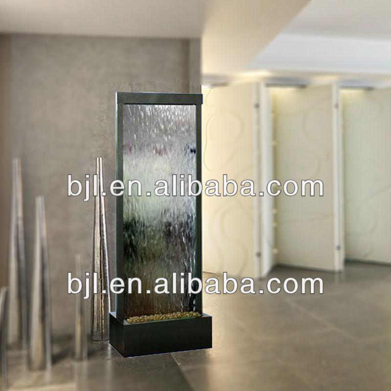 Glas Wasserfall Raumteiler Ideen Wohnzimmer Anderes