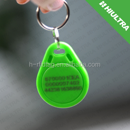 125KHZ T5577 Readable/Writable RFID Keyfob for Access Control