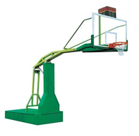 Professional movable manual hydraulic basketball ring stand