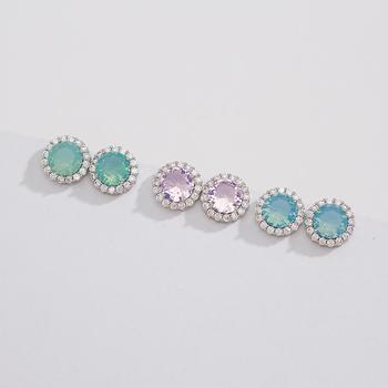 ba256099b Fancy Round One Stone Earring,Small Stud Earring - Buy One Stone ...