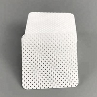 5x5cm 70gsm 100% PP Disposable Lint Free Cleaning Nail Polish Remover Wipes