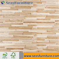 3D Decorative Solid Wood Wall Panel Sheet for home decoration oak wall panel