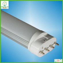 Hot item 100lm/w led tube 2g11 410mm replace 18w lamp 2g11 led