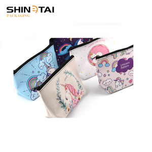 Cosmetic bag PU leather Pouch