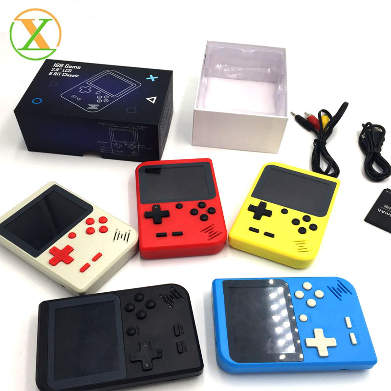 OEM print logo 2019 New Electronics Handheld Game Console OEM Video Retro 400 Classic Games For kids Player фото