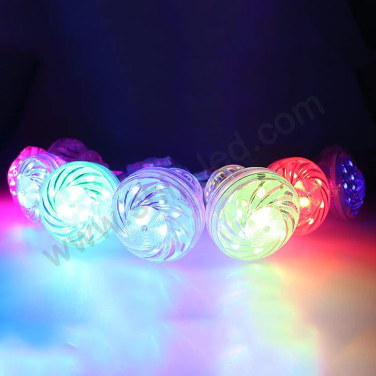 arduino/matrix/DMX512 light bulb control 60mm 18leds dream changeable color cabochon led rgb