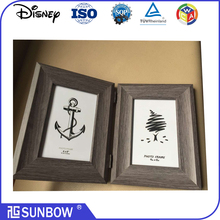 Wholesale 4x6' wooded picture photo frame/ imikimi MDF shadow box photo frame