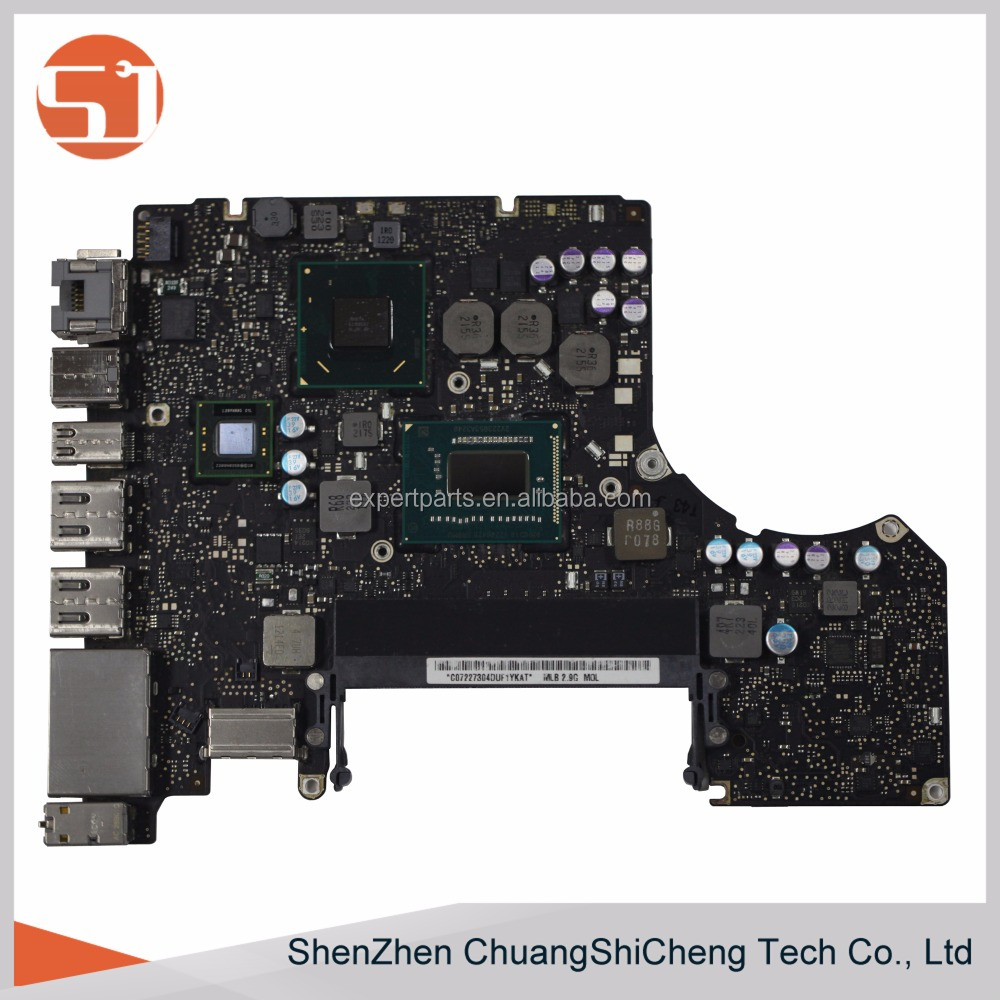 "Original 661-6589 A1278 Mid 2012 i7 2.9Ghz 820-3115-B Laptop 13"" MD102 Logic Board Motherboard"