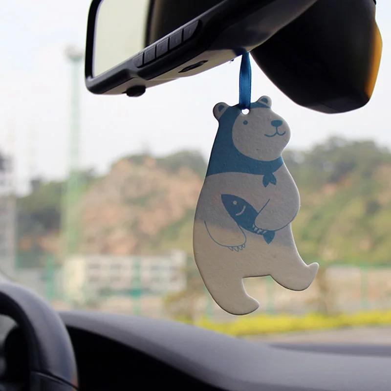 Logo Printable Hanging Custom Paper Car Air Freshener Fragrance Hanging With Custom Shapes