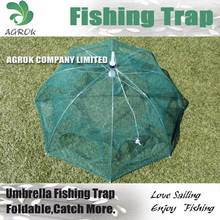 Foldable Umbrella Style Fishing Trap Crab Trap cage Crayfish Cage UT861