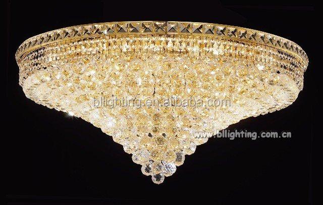 Searchlight Hanna Gold Semi Flush Light Ceiling Light