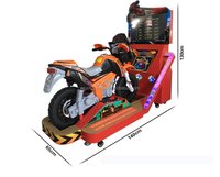Cool design kids ride on moto Attack Bike Racing Car simulator game arcade game machine