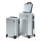 hot selling abs and pc carryon luggage sets