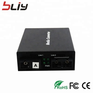 2018 Hot Products OEM Single Mode 20 KM Fiber Optic Media Converter