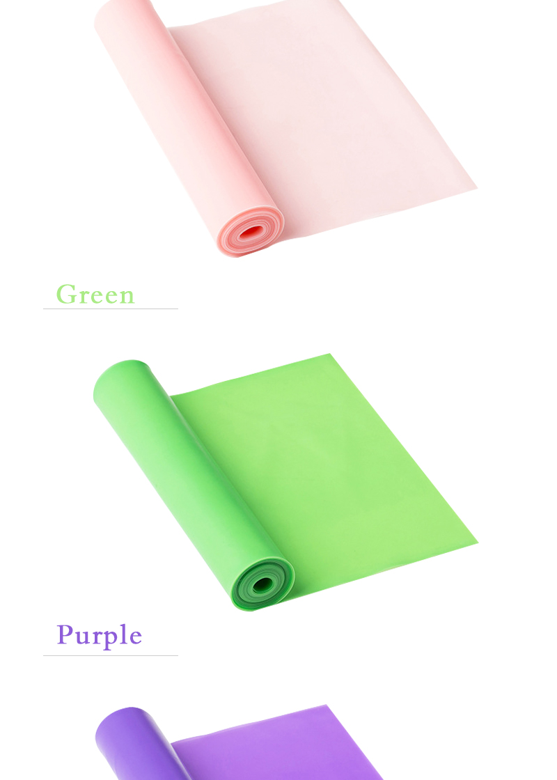 Customized logo color natural rubber latex film