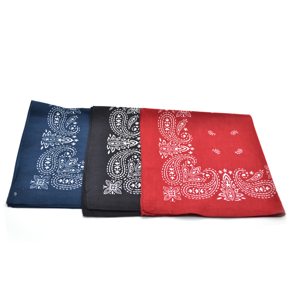 Hot sale DIY bandana face cover paisley print square scarf,multi functional bandana head scarf,multi wearing ways bandana