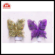 Butterfly figurine,Christmas Decorative crystal butterfly figurines