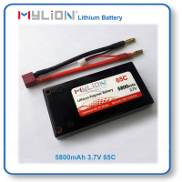 RC Lithium Polymer 3.7V Battery For RC Racing Car 5800mah 65C From China Factory