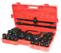 26 Pcs Tyre Repair Deep Air Impact Socket Wrench Set