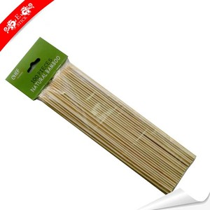 Food Grade Flexible Wooden Marshmallow Sticks For Picnic