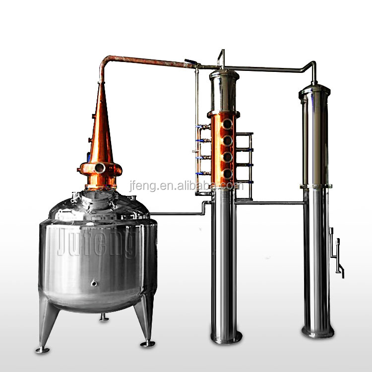 1000L copper column still rum vodka gin distillery alcohol distilling equipment