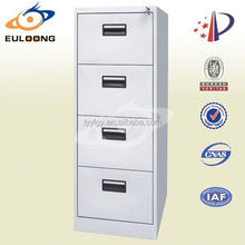 Euloong Steel Furniture/cheap durable metal parts godrej 4 drawers steel filing cabinet