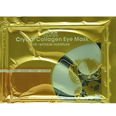 oem high quality removing eye bag crystal collagen eye mask