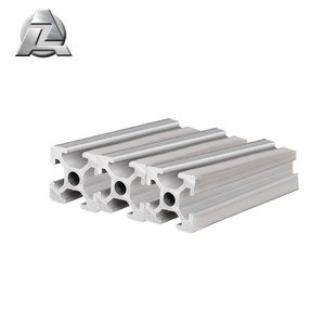 Easy assembly aluminium extrusion 2020 t slot channel