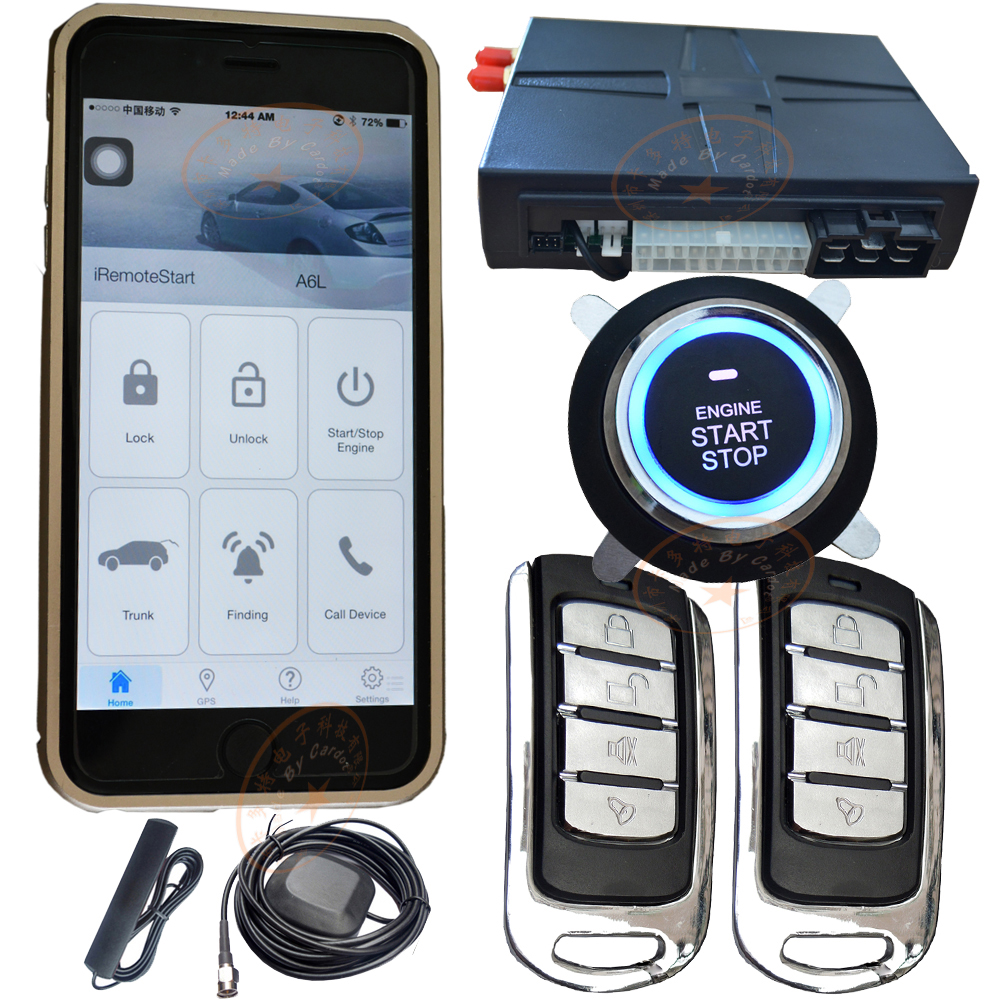 Gsm Car Alarm System With Online Realtime Gps Tracking