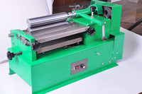 leather edge side gluing machine