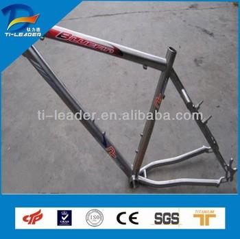 Gr9 3al2.5v Full Suspension Titanium Mountain Bike Frame ...