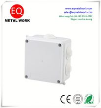 Junction box with knockouts 10x10 junction box pvc junction boxes electrical