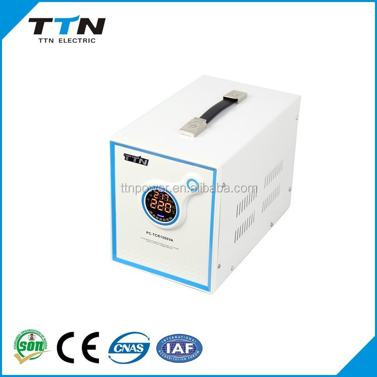 Pc-tcr Manufacturer Scr Triac Control Single Phase Ac Automatic Voltage  Regulator 220v For Air Conditioner - Buy Voltage Regulator,Manufacturer