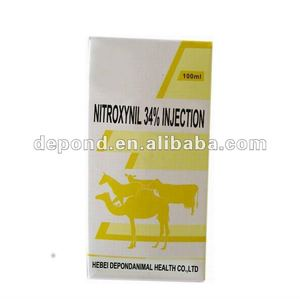Nitroxynil veterinary injection 25%, 34%