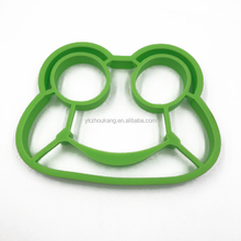 frog shaped silicone egg mold