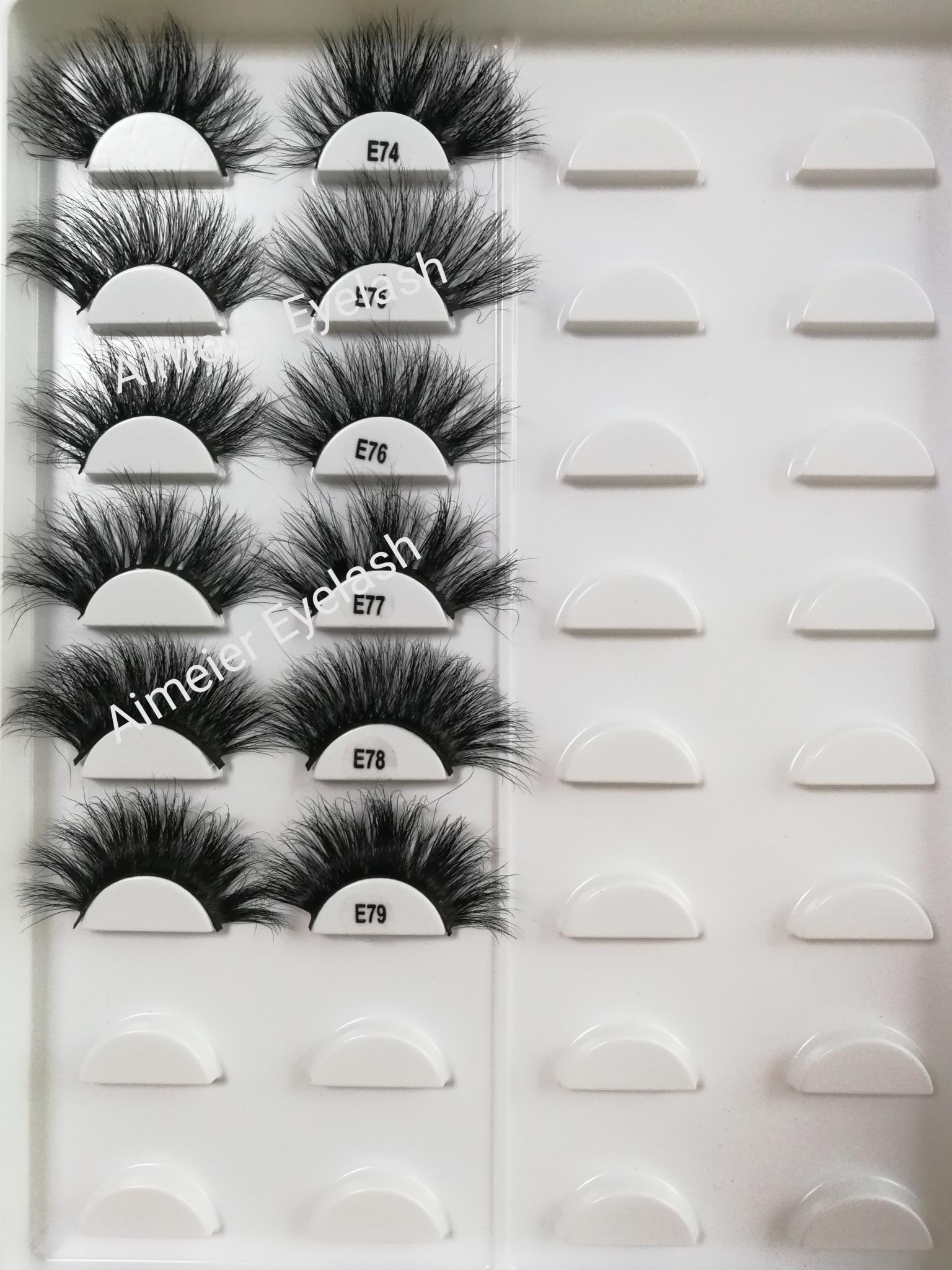 25mm 3d मिंक बरौनी निजी लेबल मिंक eyelashes के साथ कस्टम बरौनी पैकेजिंग