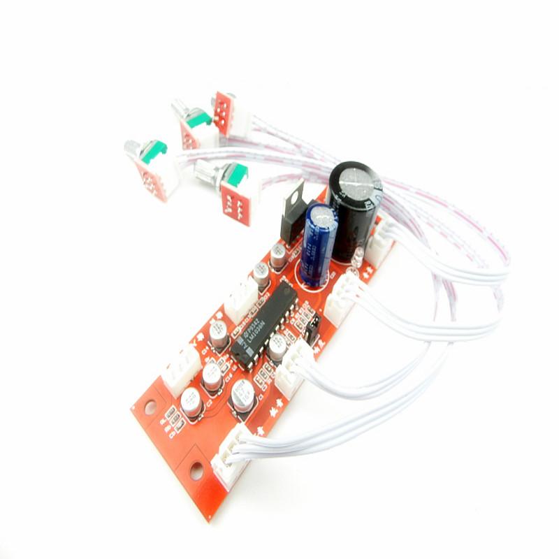 potentiometer LM4610 NE5532 LM1036 tone board