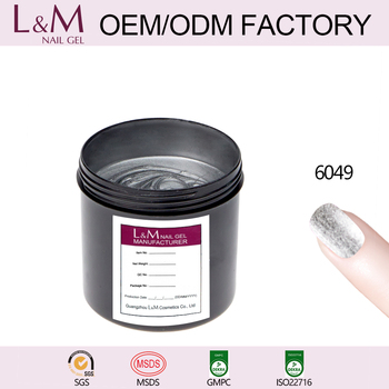 Soak off gel polish uv private label L&M IN Gallon 1kg one step gel