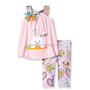 24512270695e8 2018New Style Outfit For Girls Easter 2 Pcs Outfit Kids Summer Clothing Set  Baby New Year Outfit Toddler Clothes Set Child Set, View outfits for girls  ...