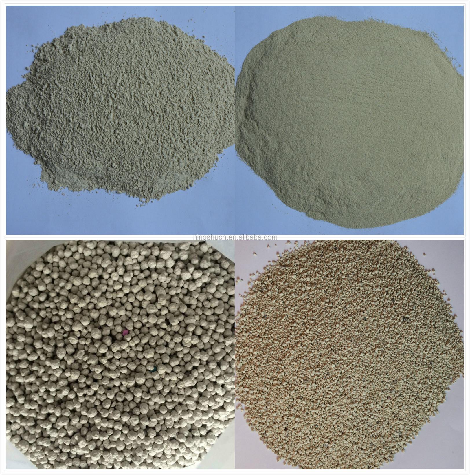 Sodium And Calcium Bentonite Clay Powder And Granules