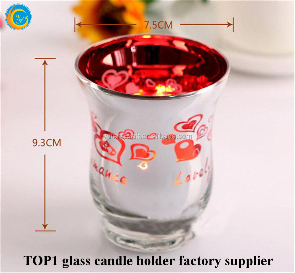 Hurricane Glass Set Candle Light Lamp Holder Centre Piece Wedding Table