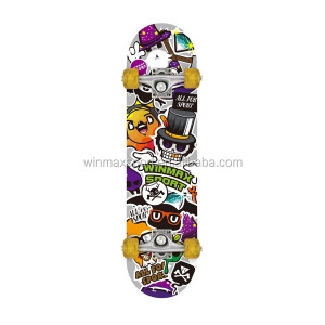 "WME05121 5"" heavy duty aluminium alloy skateboard,flying skateboard,wooden skate board"