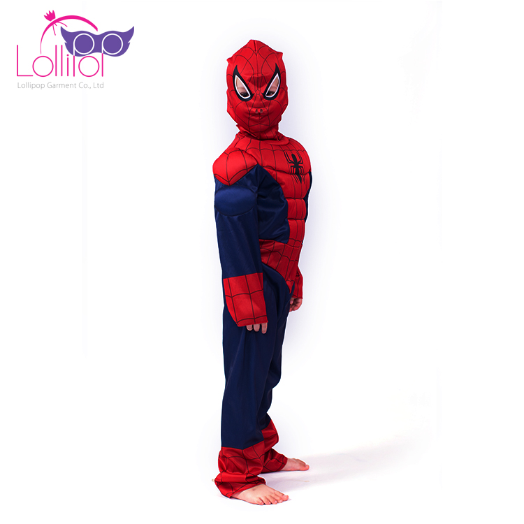 Halloween carnival costume wholesale kids new spiderman cosplay costume for sale