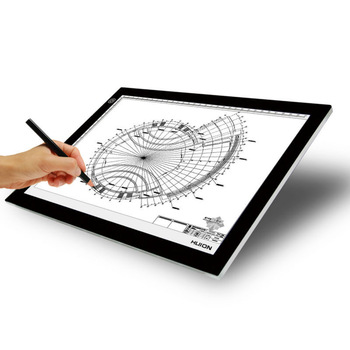 A2 Dc12v Acrylic Panel Led Light Up Drawing Board Led Tattoo ...