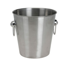 High quality custom stainless metal ice bucket made from China
