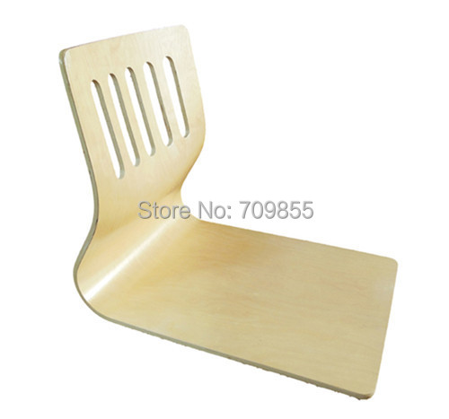 Get Quotations · (4pcs/lot) Japanese Zaisu Chair Wholesale Natural Finish  Without Cushion Wood Floor Tatami