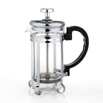 Eco Coffee 350ml Coffee French Press Slivery/Gold Coffee Plunger American french press